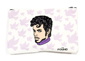 Purple Doves Pouch