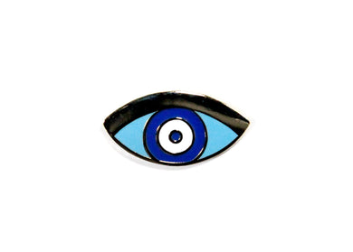 Protection Eye Enamel Pin