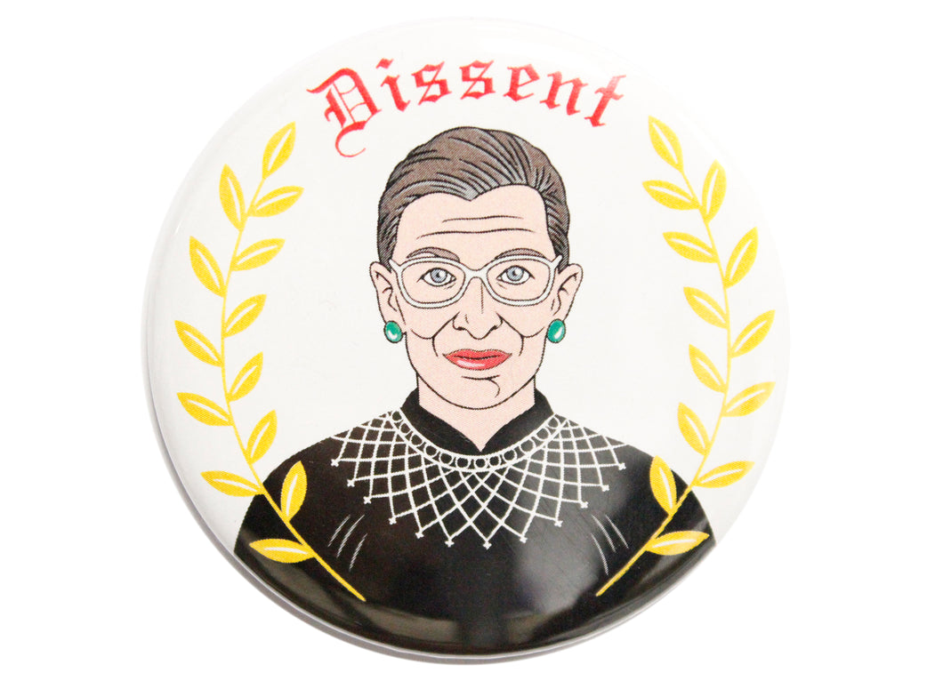Ruth Bader Ginsberg Dissent Magnet