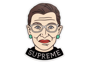 Ruth Bader Ginsberg Supreme Sticker