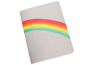 Neon Rainbow Notebook