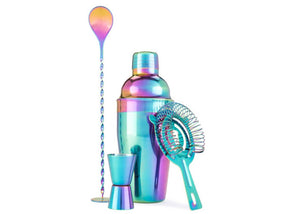 Rainbow Barware Set