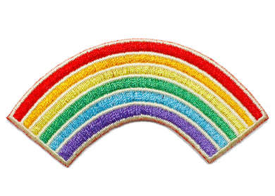 Rainbow Iron-On Patch