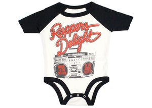 Rappers Delight Baby Onesie