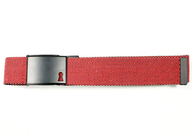 Red & Black Reversible Double Faced Belt