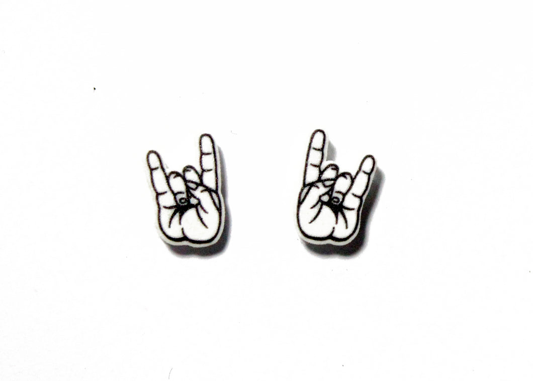 Rock On Earrings