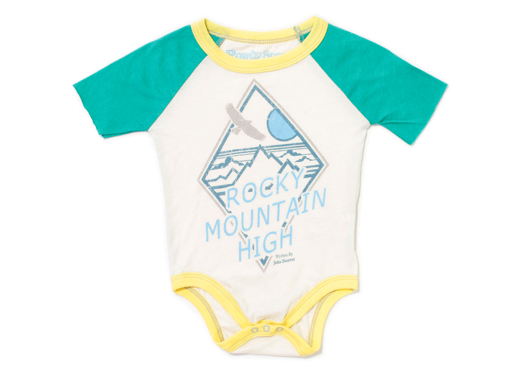 Rocky Mountain High Baby Onesie