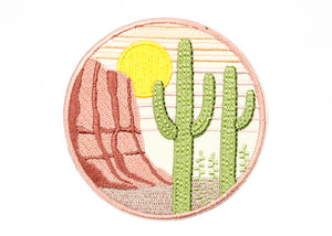Saguaro Iron-On Patch