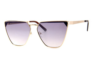 Seize Sunglasses in Gold Mirror