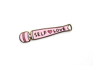 Self Love Vibrator Enamel Pin