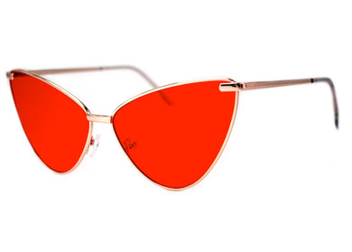 Sissy Sunglasses in Gold & Red