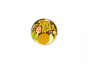 Slow Rider Enamel Pin