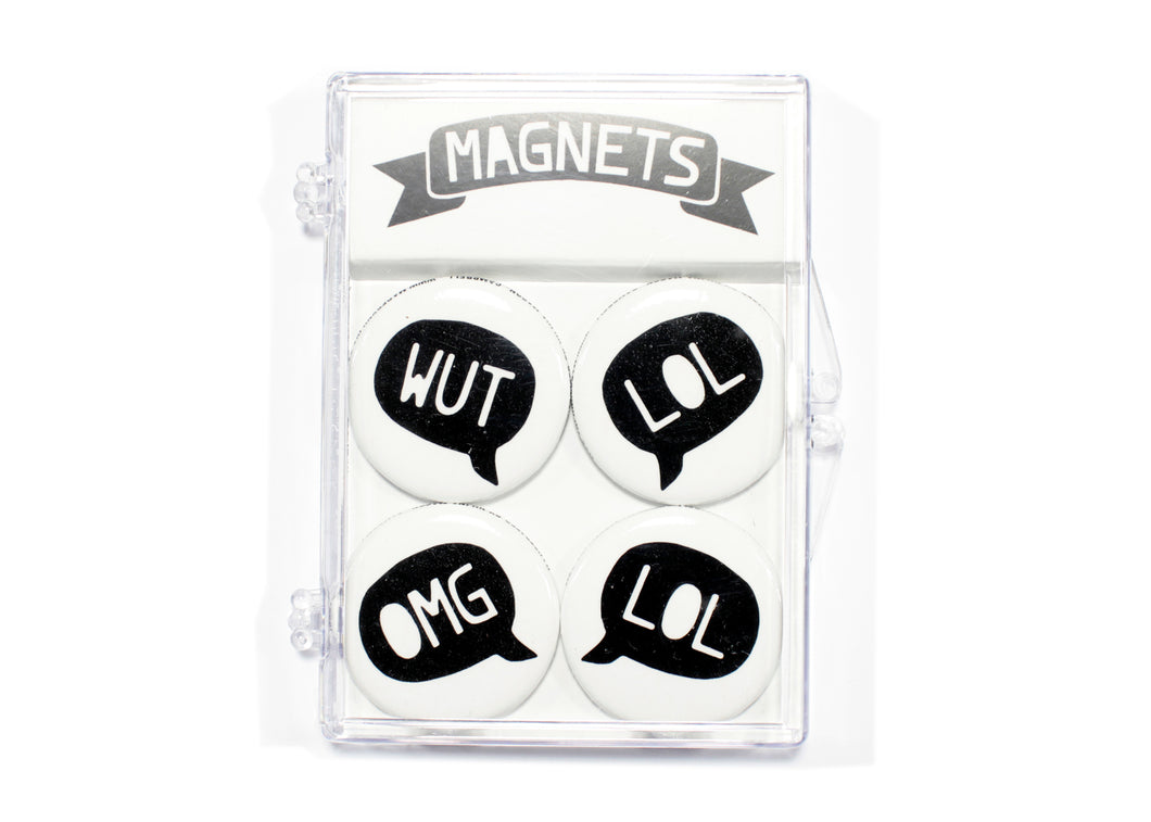 Speech Bubble Magnet Set
