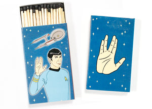 Spock LLAP Jumbo Match Box