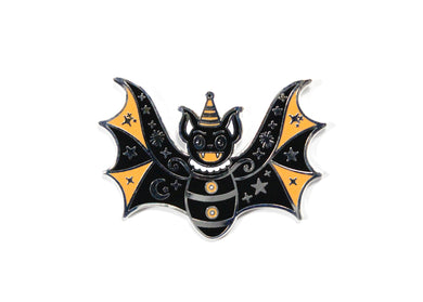 Spooky Bat Enamel Pin
