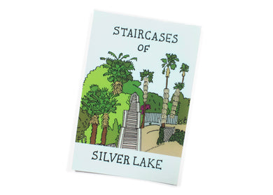 Staircases of Silver Lake Postcard