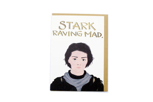 Stark Raving Mad Card