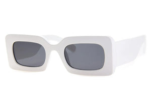 TV Sunglasses in White