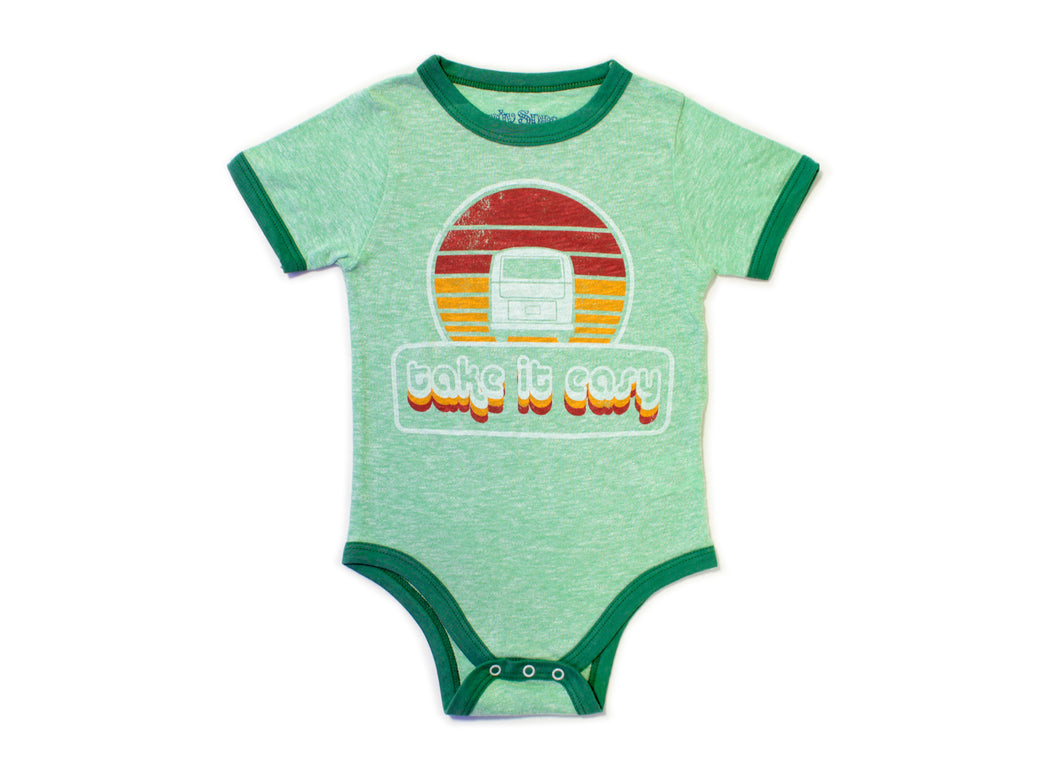 Take It Easy Baby Onesie