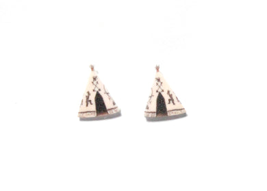Tee Pee Earrings