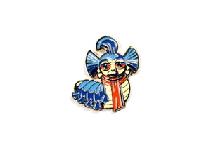 Labyrinth: The Worm Enamel Pin