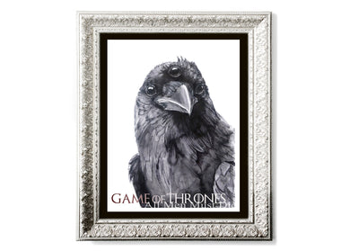 Three-Eyed Raven Art Print