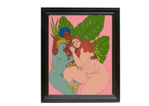 Threesome Art Print