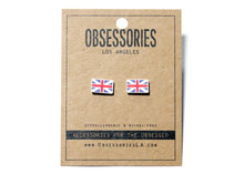 UK Flag Earrings