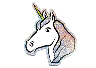 Unicorn Holographic Glitter Sticker