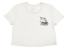 Unicorn Magic Crop Tee