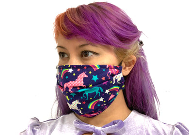 Unicorn Reversible Face Mask