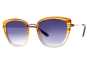 Varnished Sunglasses in Amber