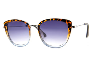 Varnished Sunglasses in Tortoise