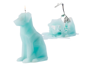 Voffi PyroPet Candle in Aqua