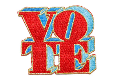 Vote Iron-On Patch