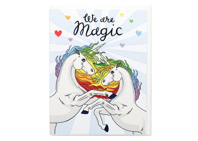 Unicorns: We Are Magic Card