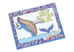Whales Getting Drunk Coloring Book