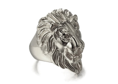 Lion Ring in Stainless Steel