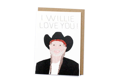Willie Love You Card