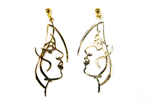 Willow Earrings in 14kt Gold