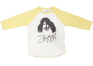 Zappa Kids Tee in Yellow