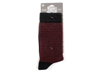 Zara Crew Socks In Mulberry