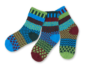 Kids Socks in Junebug