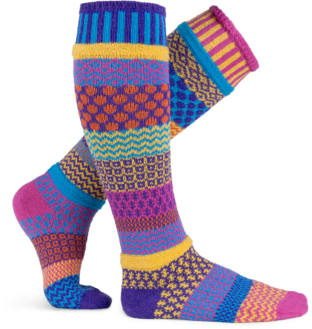 Adult Knee Socks in Carnation