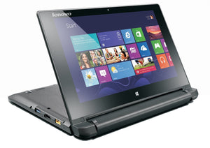 Lenovo Flex 10 10.1-inch Touchscreen Laptop - Black (Intel Celeron N2806 1.58 GHz