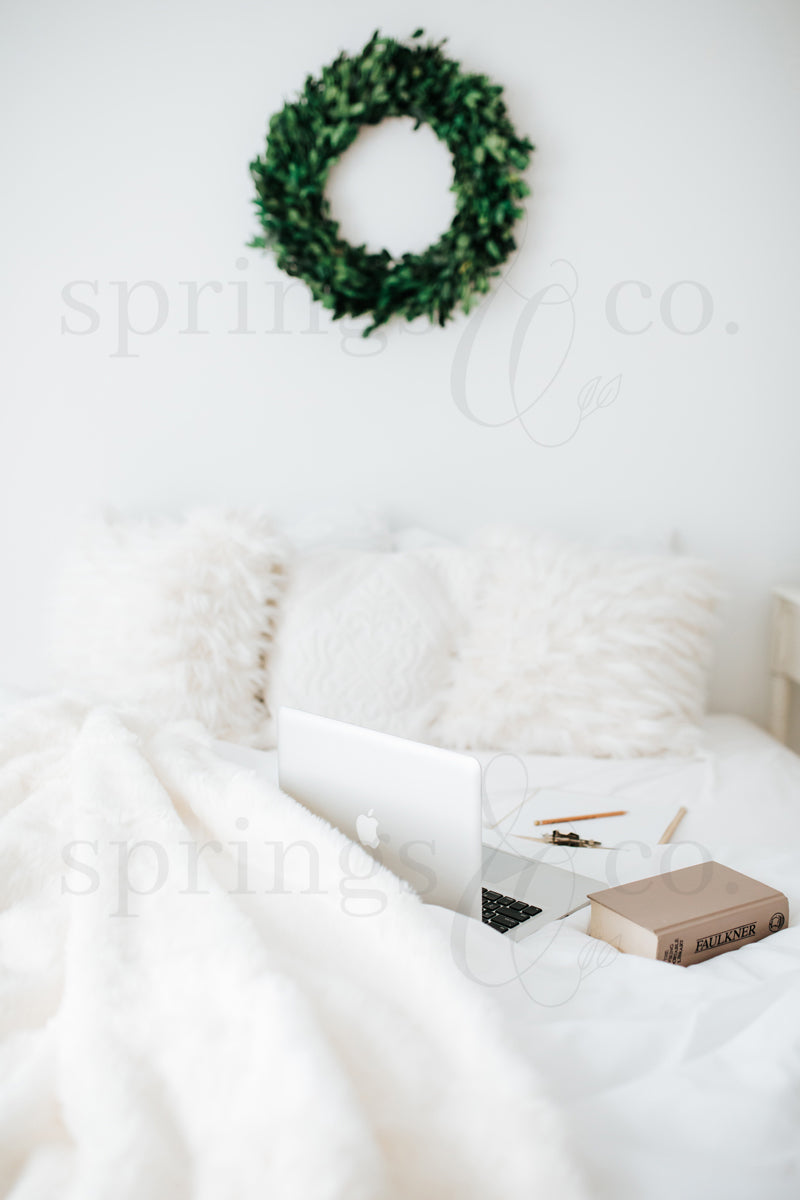 Wreath over Bed 2