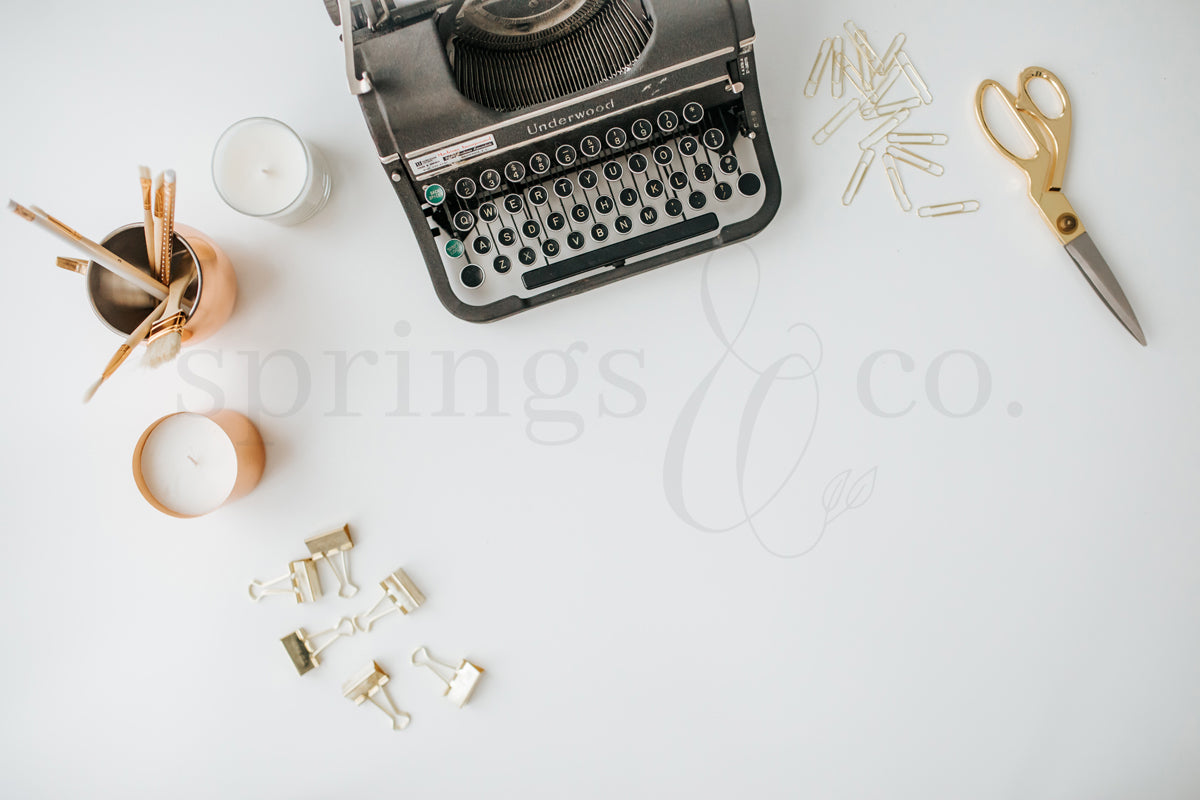 Typewriter Desktop 10