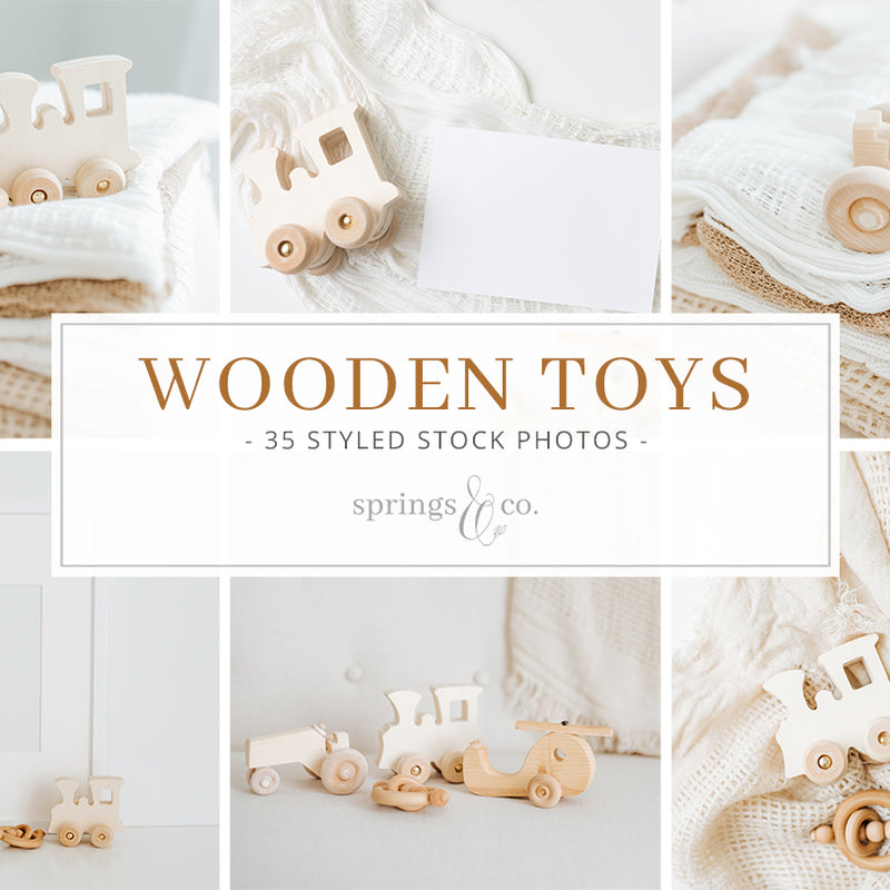 Wooden Toys Bundle