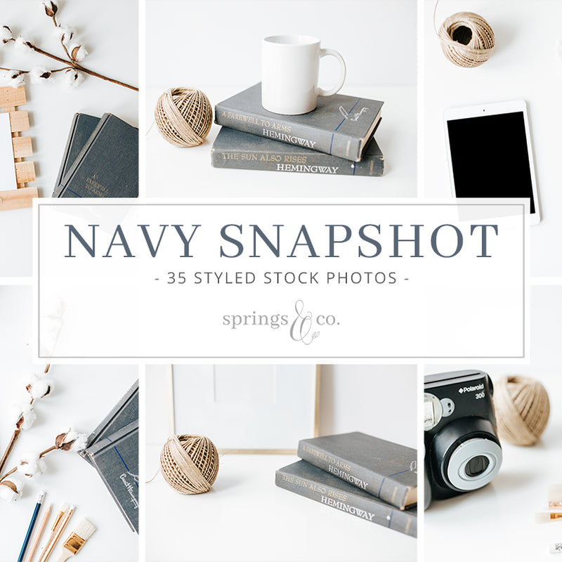 Navy Snapshot Bundle