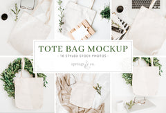Tote Bag Mockup Bundle
